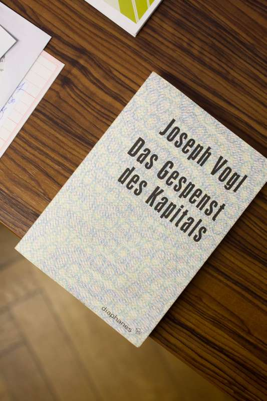 Das Gespenst des Kapitals von Joseph Vogel.