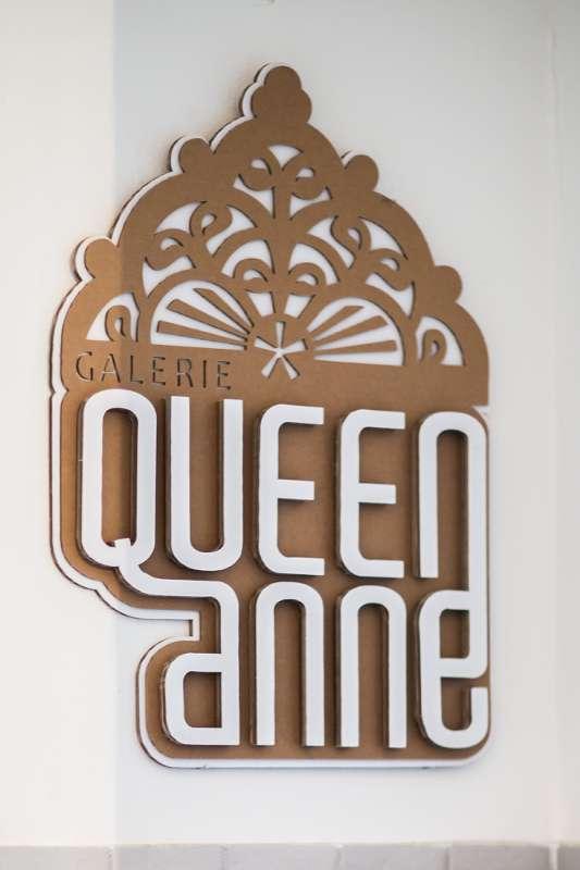 Logo der Galerie Queen Anne.