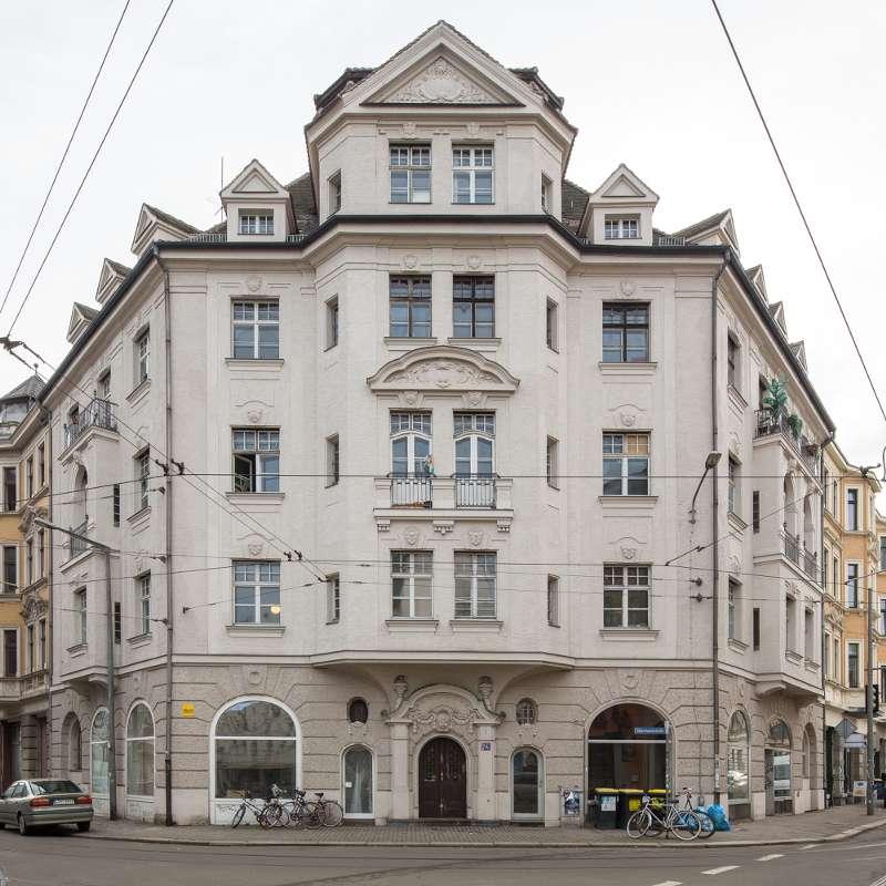 Wächterhaus in der Nähe des Lindenauer Marktes Leipzig.