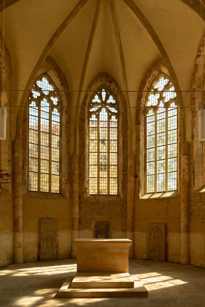 Seit 2011 ist das ehemalige Franziskanerkloster als Kulturkirche im Einsatz