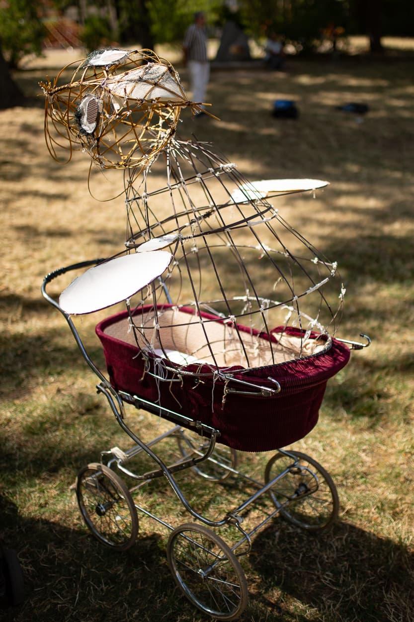 Zeitz ist bekannt für die Herstellung von Kinderwagen. Was wäre besser geeignet als Symbol für die Parade| Regentaucher Fotografie