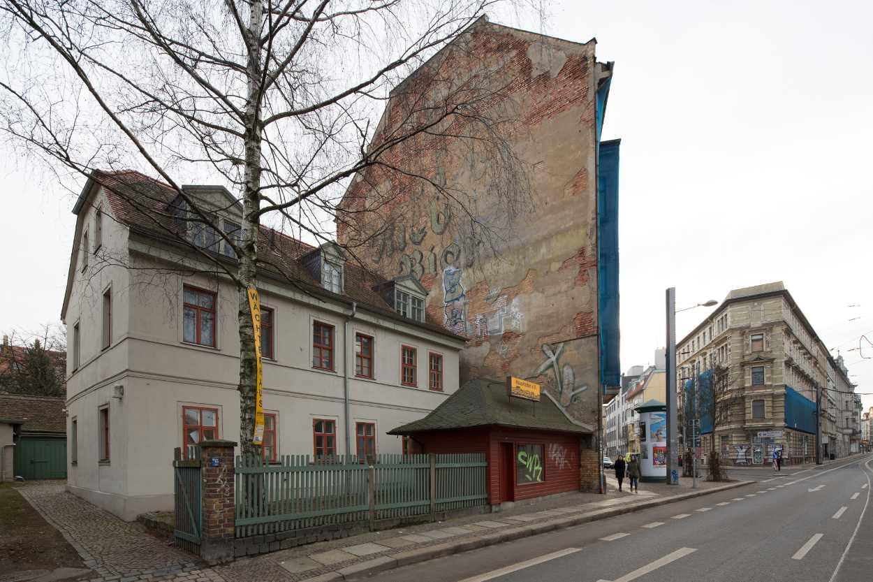 Zentrale von Haushalten e.V. in Leipzig Lindenau.