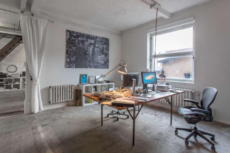 Blick in das Büro von rb architekten.