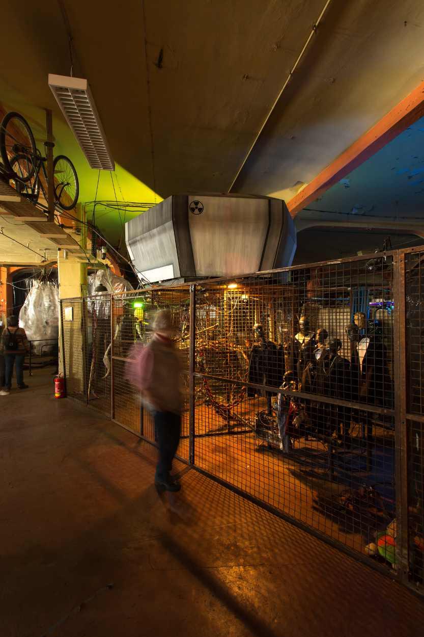 Dreimal im Jahr war Bimbotown auf der Baumwollspinnerei in Leipzig zuletzt geöffnet.