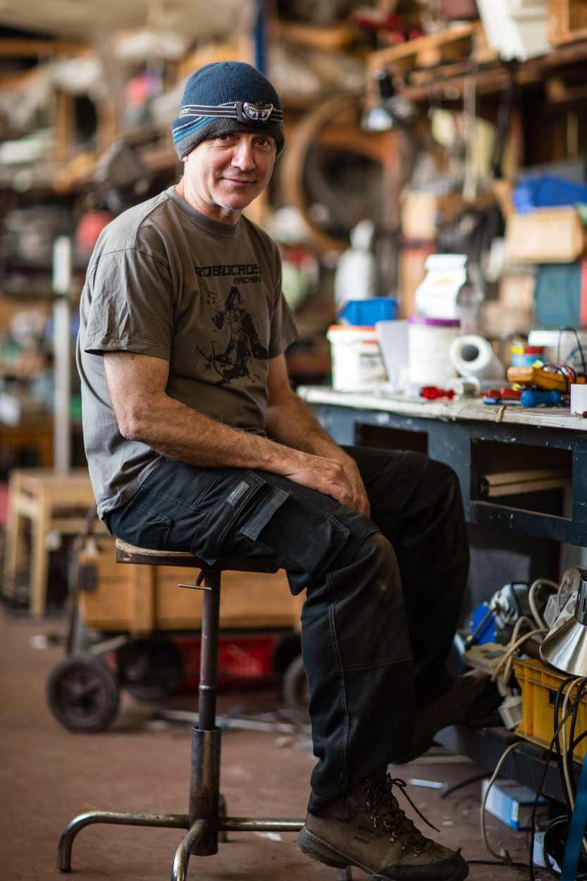 Jim Whiting im Bimbotown Leipzig.