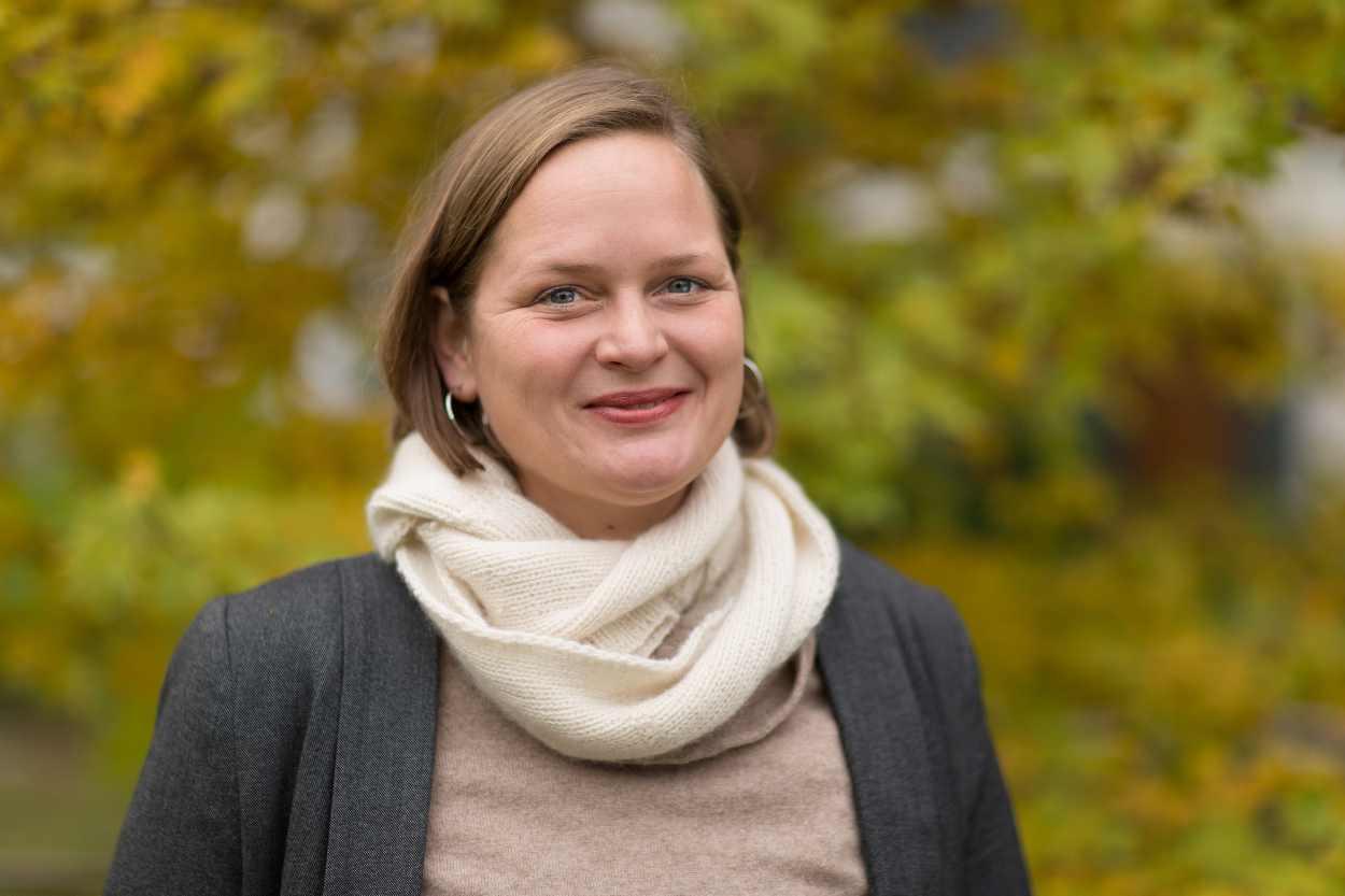 Portraitaufnahme von Karla Müller
