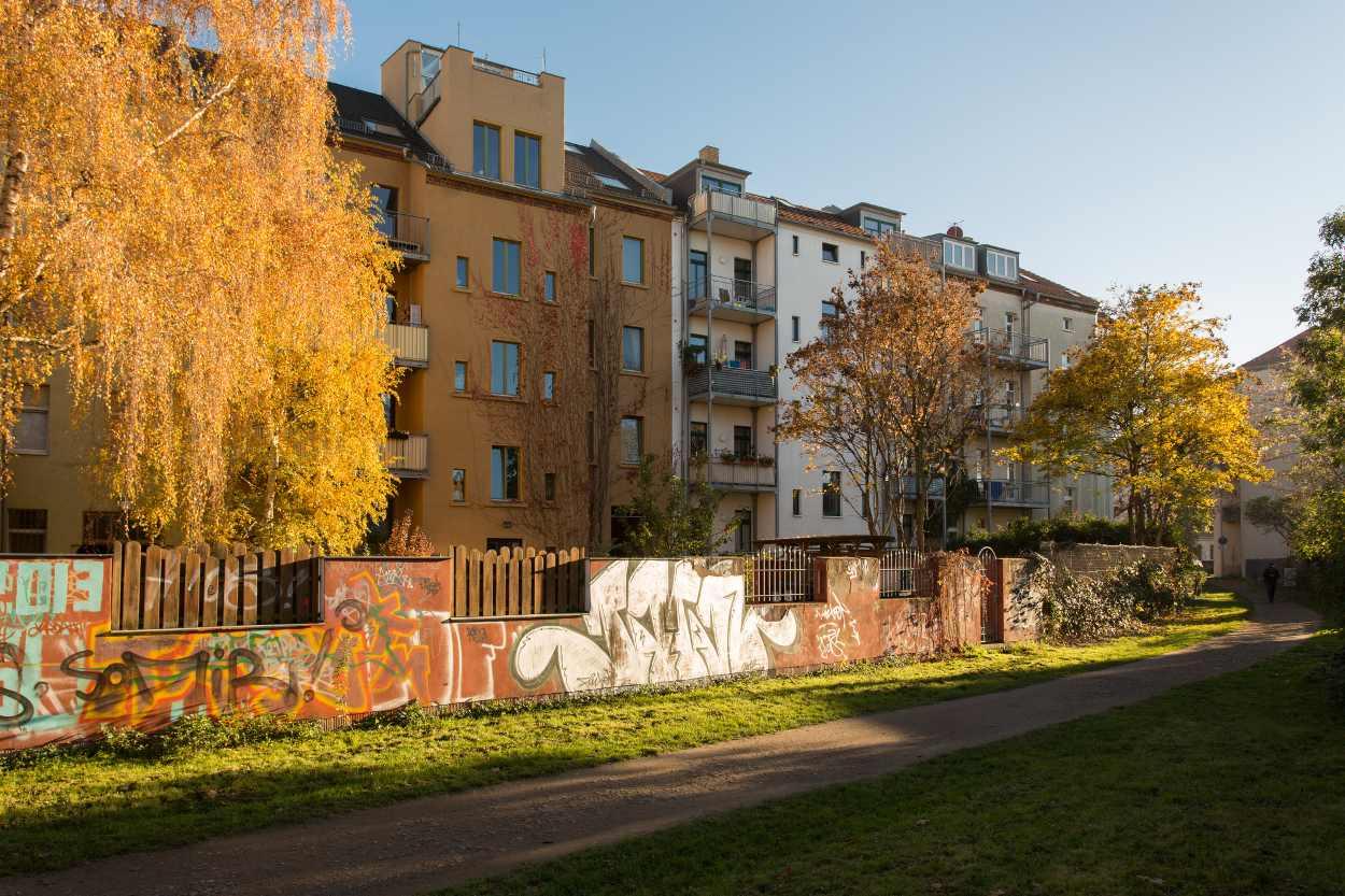 Wohnen direkt am Henriettenpark.