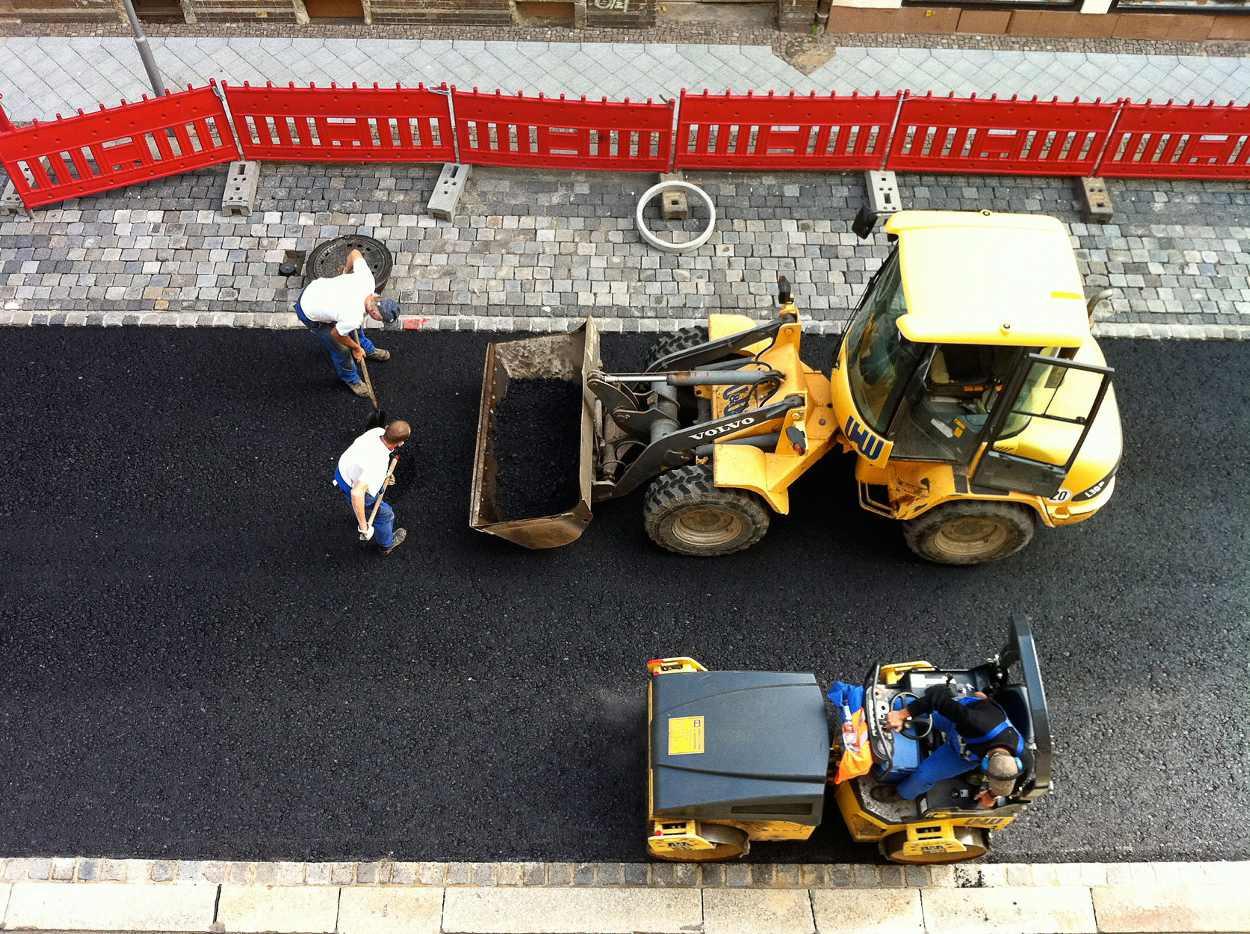 Neugestaltung und Sanierierung der Josephstraße 2011.