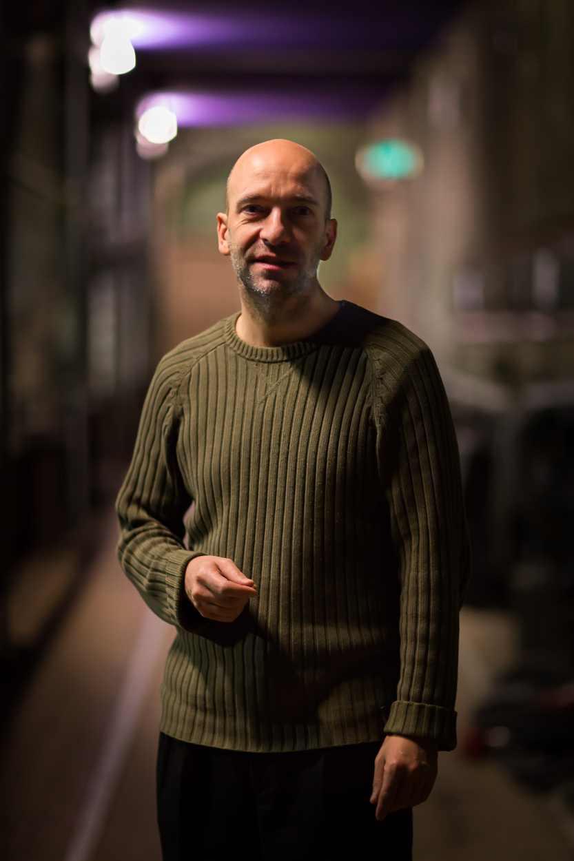 René Reinhardt ist Mitgründer der Schaubühne Lindenfels.