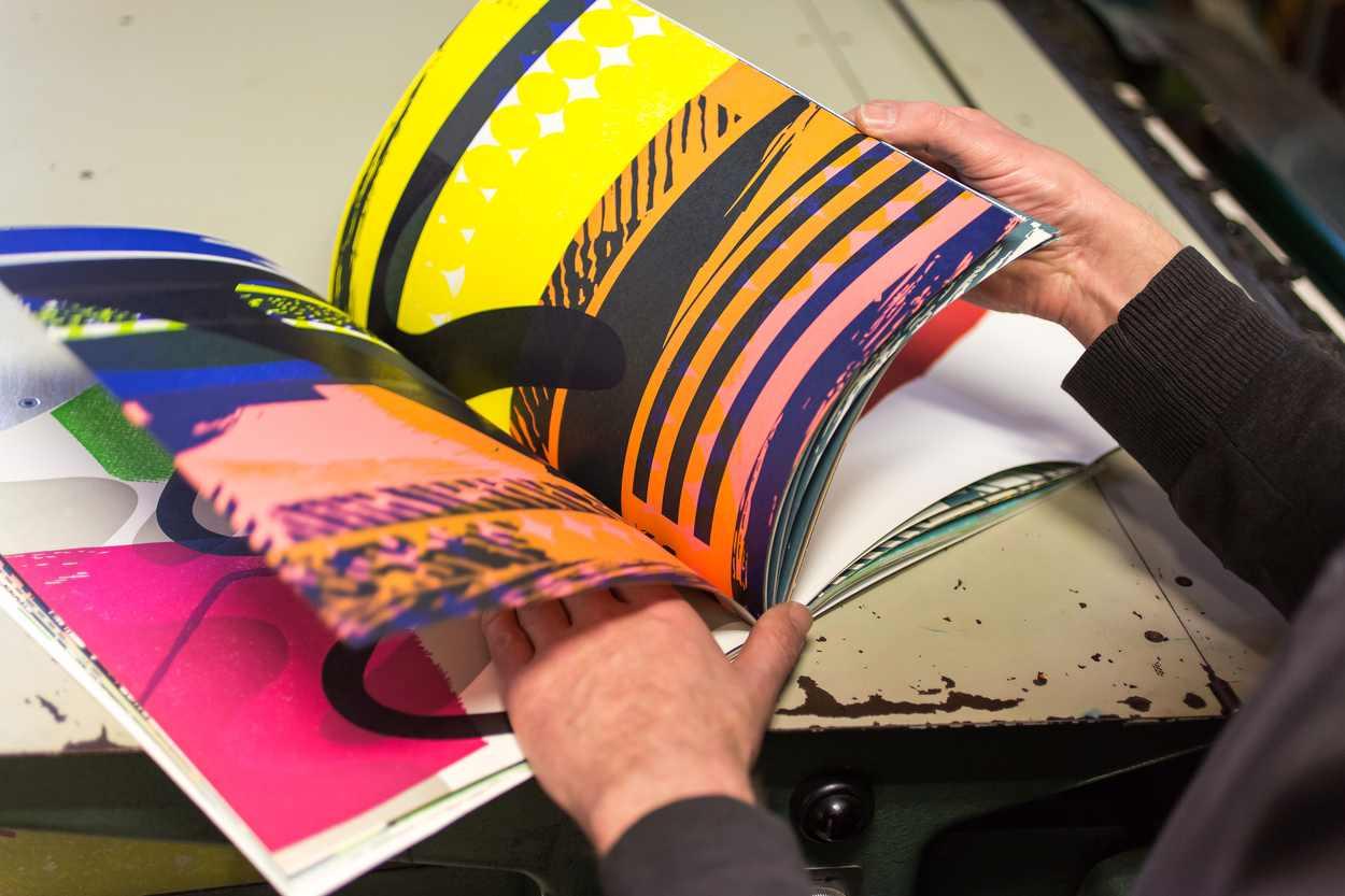 Ergebnisse aus dem ersten Printjam-Projekt wurden in Buchform überführt.