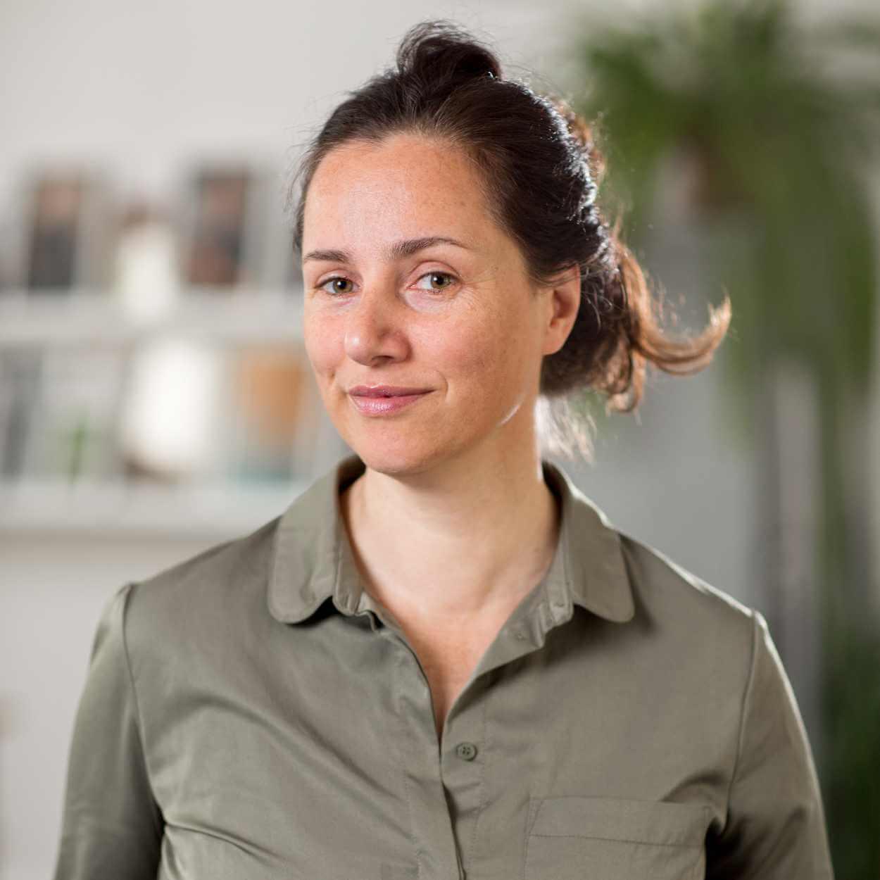 Portraitaufnahme von Petra Mattheis.