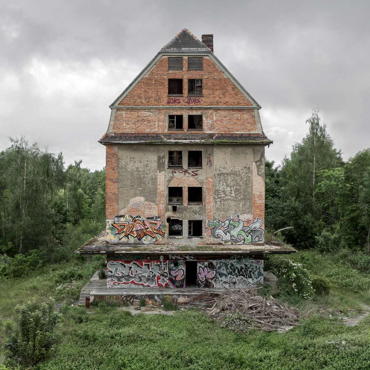 Leerstehendes Gebäude in Leipzig Gohlis