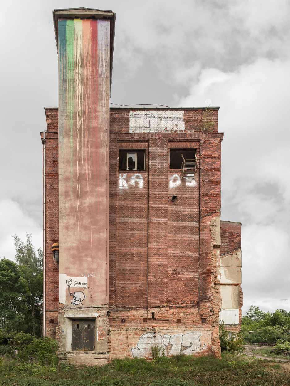 Leerstehendes Gebäude in Leipzig Plagwitz - Swiderski