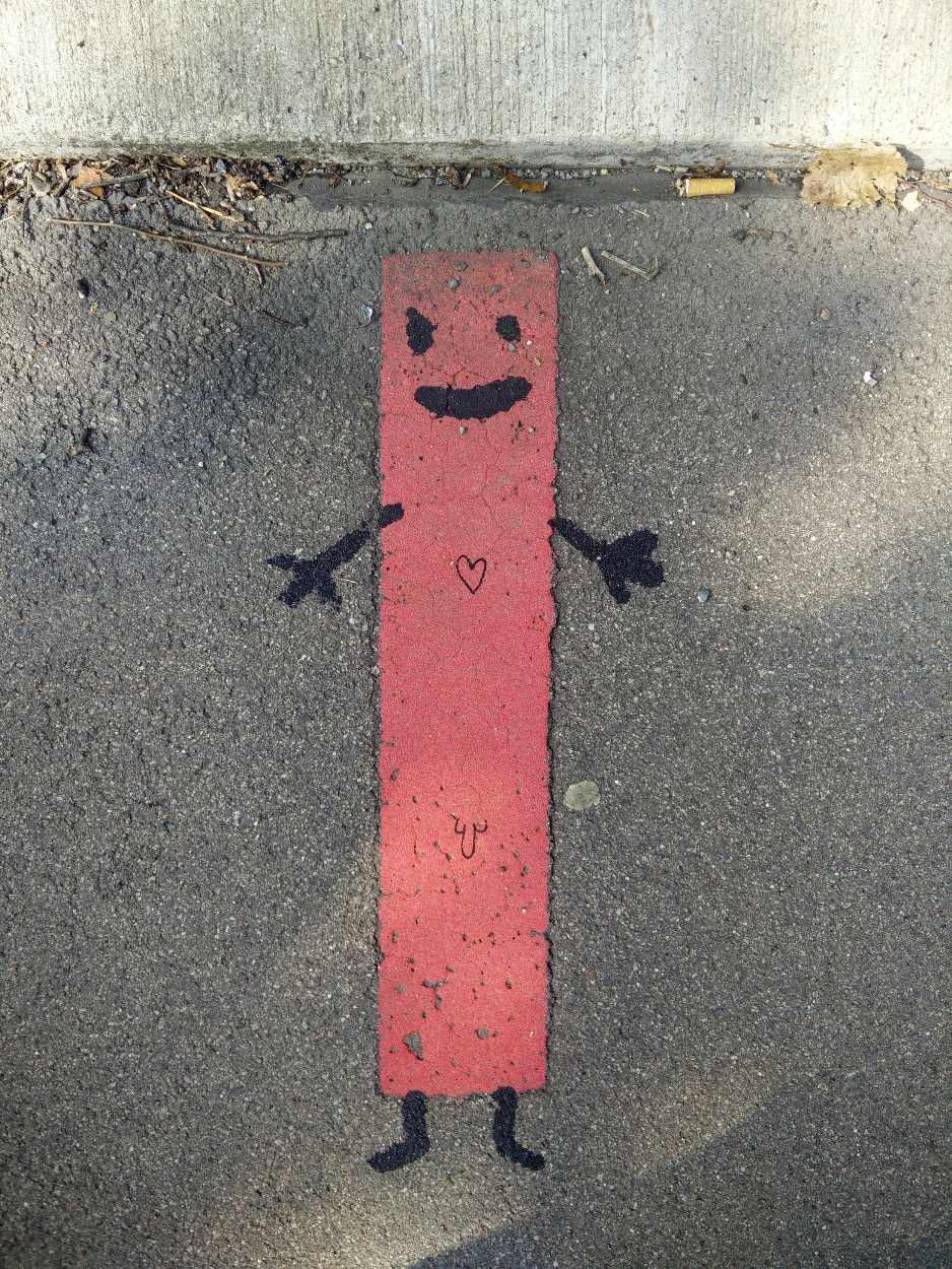 Streetart auf den Straßen von Leipzig Lindenau