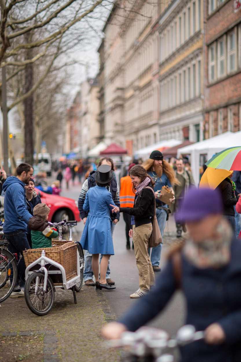 """Der Flohmarkt mit dem Namen """"Westpaket"""" ist nur ein Teil der Gesamtveranstaltung """"Westbesuch""""."""