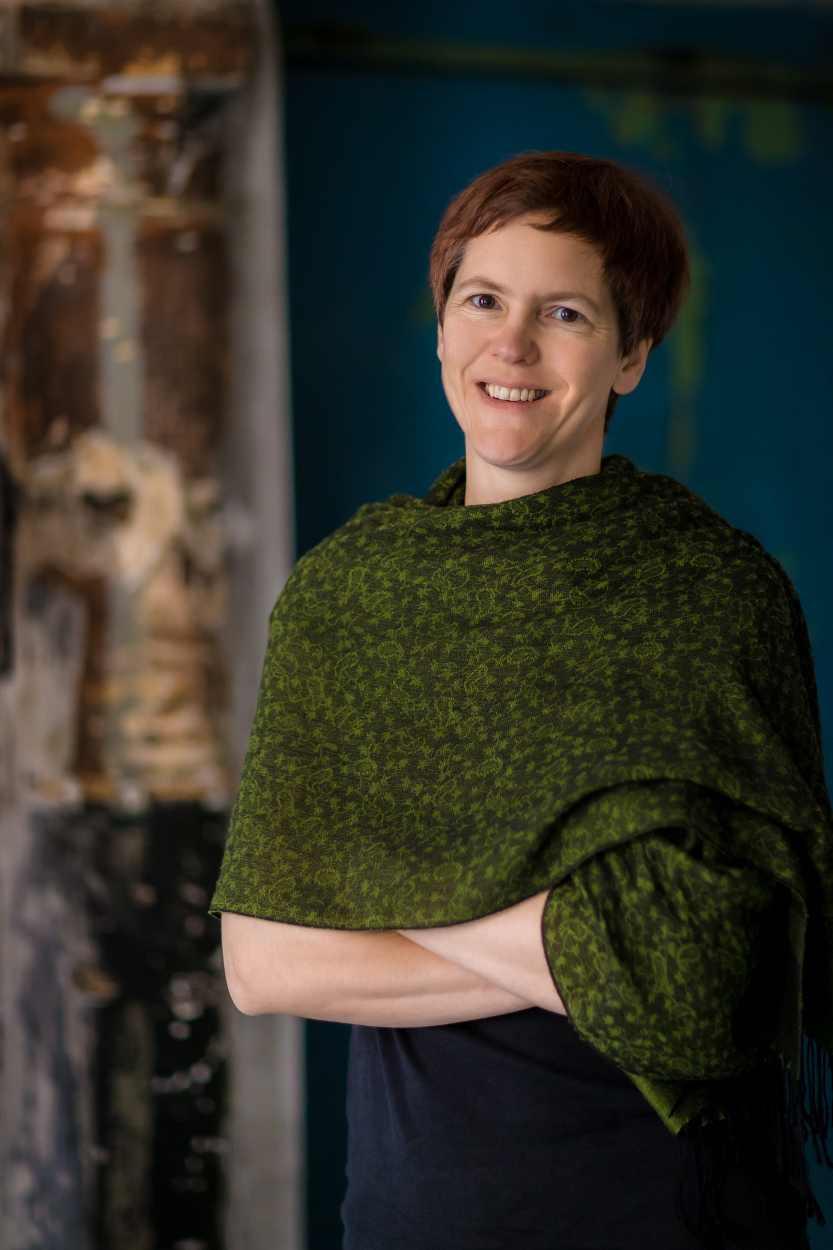 Portraitaufnahme von Charlotte Wilde.